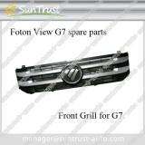 Foton mini van View G7 spare parts, front grill