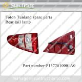 Foton Tunland parts, rear tail lamp, P1372010001A0