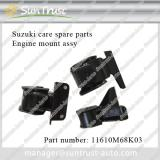 Suzuki car spare parts, engine mount, 11620M68K04,11610M68K03,11710M68K10