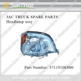 JAC truck spare parts, headlamp assy, 3711910E800