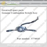 Greatwall spare parts, Genuine Combination Switch Assy 3774010