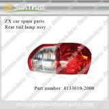 ZX car spare parts, rear tail lamp, 4133010-2000, for grand tiger pick up