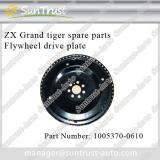 ZX car spare parts, flywheel drive plate, 1005370-0610, for grand tiger pick up