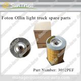 Foton Ollin spare parts, air filter, 3052PEF,K2027