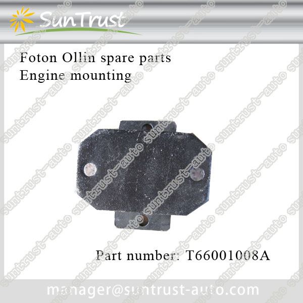 Foton Ollin spare parts, engine mounting, T66001008A